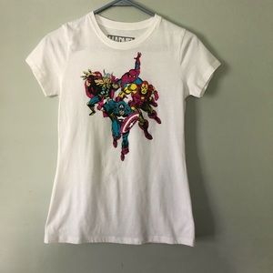 🌟4/$20🌟 marvel glitter graphic tee
